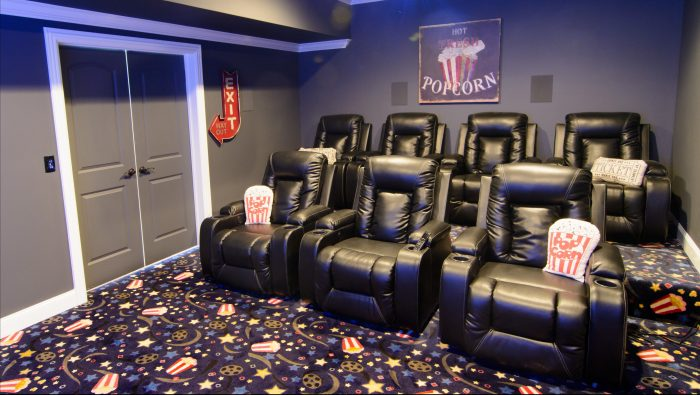 Tiered Theater Seating