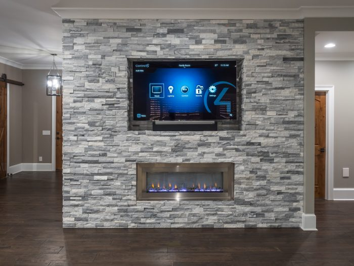 OLED TV In Living Room
