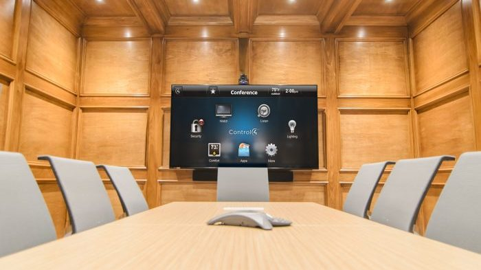 Project Showcase: Elegant Corporate Boardroom