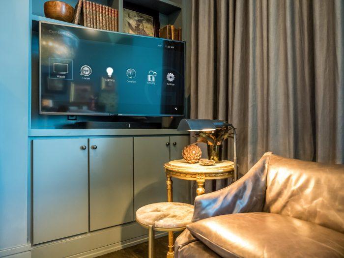 LCD TV In Office