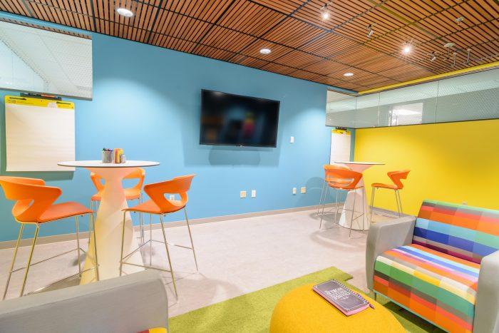 Employee meeting space