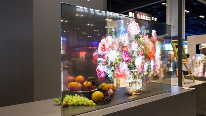 New Product Alert: Transparent OLEDS